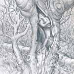 sleeping dryad