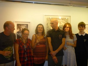 Summer Salon at the View gallery, Hotwells, Bristol