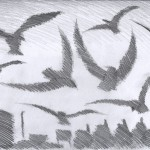 a wing a prey a song - sketches for animation project