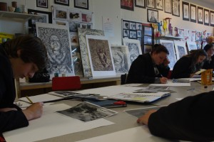 Art Workshop at Brunel Academy